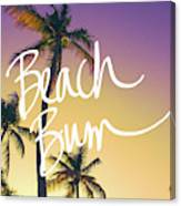 Evening Beach Bum Canvas Print