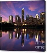 Evening Blue Austin Canvas Print