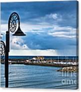Evening Calm At Lyme Regis Canvas Print