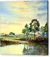 Evening Falls Canvas Print