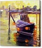 Evening Gold Canvas Print