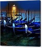 Evening Gondola Canvas Print