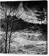 Evening Great Falls Maine Canvas Print