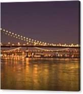 Evening II New York City Usa Canvas Print
