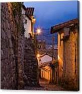 Evening In Cusco  Canvas Print