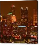 Evening In The City Of Champions Canvas Print