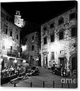 Evening In Tuscany Canvas Print
