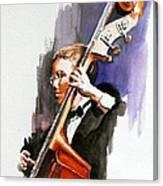 Evening Jazz Canvas Print
