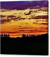 Evening Landscape Canvas Print