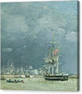 Evening Le Havre Canvas Print