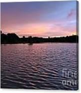 Evening Light Amazon River Canvas Print