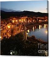 Evening Light In Collioure Canvas Print