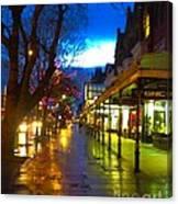 Evening Light On Lord Street Canvas Print