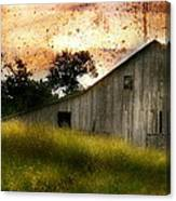 Evening Light Over Taylor Farm Canvas Print