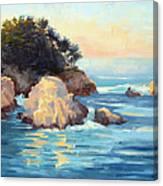 Evening Light Point Lobos Canvas Print