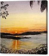 Evening Marsh Canvas Print