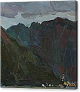 Evening Mountains In The Gulf Canvas Print