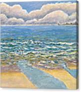Evening North Myrtle Beach Canvas Print