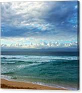 Evening North Shore Oahu Hawaii Canvas Print