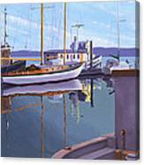 Evening On Malaspina Strait Canvas Print