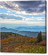 Evening On The Blue Ridge Parkway Canvas Print