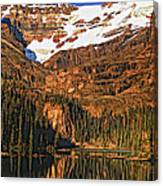 Evening On The Great Divide Painted Canvas Print