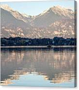 Evening Over Lake Bled Canvas Print