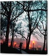 Evening Rain Photofresco Canvas Print