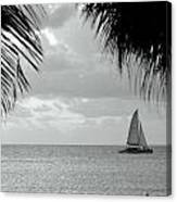 Evening Sail In Paradise Canvas Print