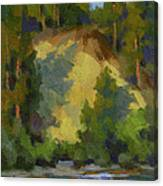 Evening Shadows Teanaway River Canvas Print