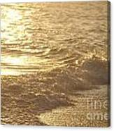 Evening Sun Hive Beach Three Canvas Print