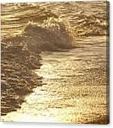 Evening Sun Hive Beach Two Canvas Print