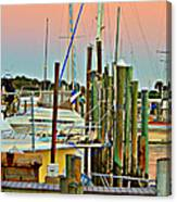 Evening View Canvas Print