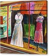 Evening Wear Canvas Print