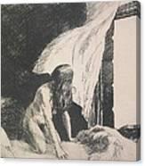 Evening Wind Canvas Print