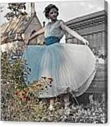 Ever Seen An Alice With A Blossom Like That Canvas Print