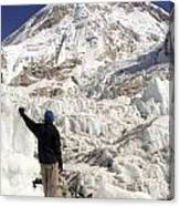 Everest Base Camp Canvas Print