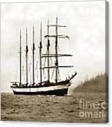 Everett G. Griggs Sailing Ship Washington State 1905 Canvas Print