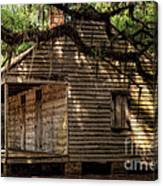 Evergreen Plantation Slave Quarters Canvas Print