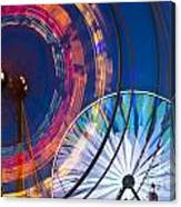 Evergreen State Fair Ferris Wheel Canvas Print