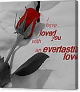 Everlasting Love Canvas Print