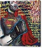A Hero Canvas Print