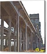 Everysville Bridge Canvas Print