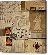 Evidence Canvas Print