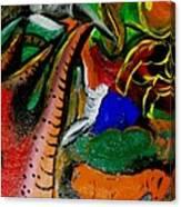 Evil Aloe Vera Canvas Print