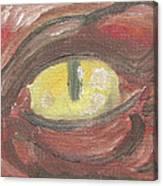 Evil Eye Canvas Print