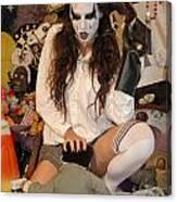 Evil Schoolgirl 105 Canvas Print