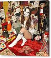 Evil Schoolgirl 166 Canvas Print