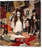 Evil Schoolgirl 2 Canvas Print