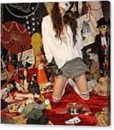 Evil Schoolgirl 207 Canvas Print